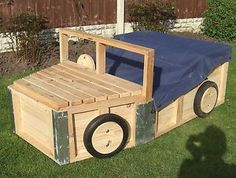 Truck shaped shelving   TRUCK/CAR SHAPED SANDPIT WITH TOY STORAGE & COVER NEW L00K!!!!   eBay