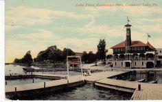 Exposition Park Conneaut Lake PA Lake Front 1912