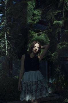 White#Lace#Skirt#Park#Oliwski http://on.fb.me/1lwh3Wf