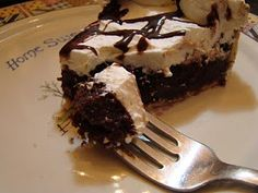 Chocolate Chess Pie .... This is a copycat recipe for the Choc Pie at Golden Corral. I LOVE that pie.