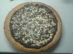Torta pere cioccolato e mandorle #knam