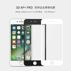 3D ARC 0.23mm fully cover Nillkin AP+ Pro Anti-Explosion Tempered Glass Screen Protector For Apple iphone 7 iphone7 (4.7 inch)