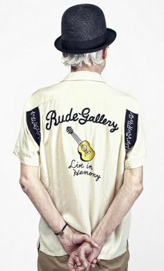 Rude Gallery BOWLING SHIRT