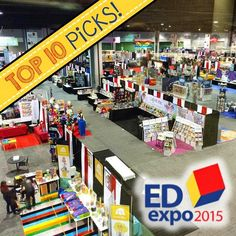 Top Ten Must-Haves from EdExpo 2015! The best new educational games and activities for the classroom!