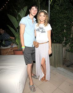 Matt Prokop and Sarah Hyland Photo - Coachella 2014: Celebrity Pictures From the Music Festival - Us Weekly