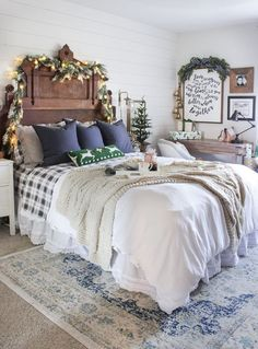 Deck out your headboard.