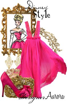 """Disney Style : Aurora"" by missm26 on Polyvore"