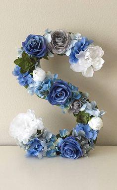 Custom Floral Monogram Wedding Monogram Sweetheart Table