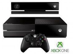 Console Xbox One 500GB Controle Wireless e Blu-ray - Novo Kinect Microsoft