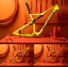 Specialized torch heat sensitive color changing bicycle paint on Epic FSR…