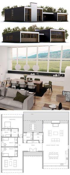 Plan de Maison, Maison, Maison Modernes,Petite Maison