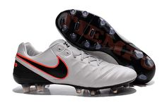 new product f8ab0 6d6d1 Cheap Nike Tiempo Legend VI FG 2016 Grey Black Orange Nike Soccer Shoes,  Nike Cleats