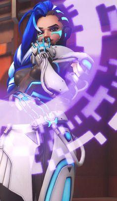Overwatch Sombra Cyber skin