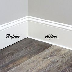 White Baseboards, Baseboard Trim, Baseboard Ideas, Caulk Baseboards, Modern Baseboards, Baseboard Styles, Bathroom Baseboard, Drywall, Bathroom Wall