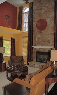"""Tuscan homes use warm, earthy tones throughout the home to evoke the best feelings that nature can offer. Golden browns, natural greens and the oh-so-popular Tuscan red are musts for the Tuscany-inspired home."""""""