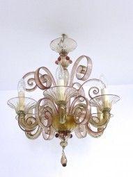 Filigraner Murano Leuchter Deckenleuchter | Wohnen & Design | Aparello