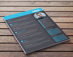 DIY Free resume template ready to download!