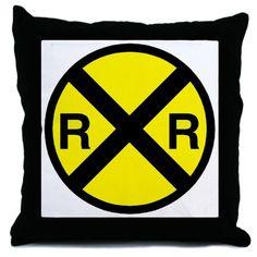 Railroad Crossing Throw Pillow CafePress http://www.amazon.com/dp/B009PTYY0Y/ref=cm_sw_r_pi_dp_WKNwwb0DWPB5Z