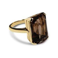 Bear Brooksbank Smoky Quartz Ring