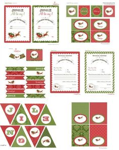free printable christmas invitations template | Printables ...