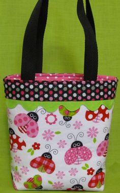 Adorable Little Girls Purse/Small by LindasPursenalities on Etsy, $20.00