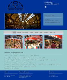 Derby's oldest market - proudly trading since 1866 Retail Websites, City Council, Did You Know, Derby, Marketing, Inspiration, Biblical Inspiration, Inspirational, Inhalation