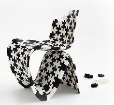 Joris Laarman (NL1979) - Puzzle Chair 3D, 2014