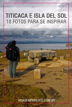 Lago Titicaca e Isla del Sol na Bolívia, com atrações e dicas para conhecer. Bolivia, Machu Picchu, Disneyland, Places To Go, Mountains, Nature, Travel, Articles, Beautiful