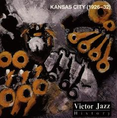 1996 Victor Jazz History Vol.9: Kansas City (1926-32) [RCA 74321285632] cover painting by Alice Choné #albumcover