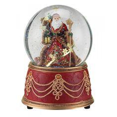 Elegant Santa Snow Globe!
