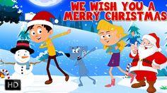 #christmas #song #carols #kids #santa #claus #jingle #bells - We Wish You A Merry Christmas Song With Lyrics