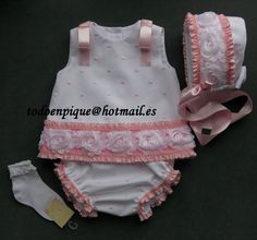 Lianne pink set in the on line shop http://todoenpiqueparabebe.com/es/