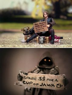 Homeless Star Wars Characters