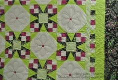 Tennessee Waltz, made by MaryLou W. machine quilted by Elizabeth Karnes