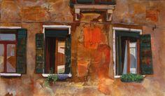 Venetian Windows II by Iva Ivanova, via Behance Old Buildings, Venetian, Painting & Drawing, Old Things, Windows, Fine Art, Drawings, Venice, Creative