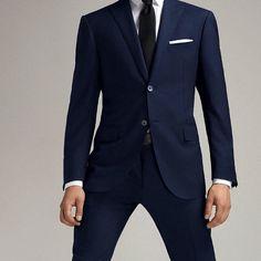 Abito uomo slim disponibile nero blu e blu navy dalla 44 alla 54 a soli 6900 #valeria #abbigliamento