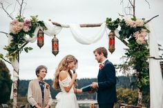 Multicultural-Inspired Wedding at The Captain Whidbey Inn | Julia Kinnunen Photography