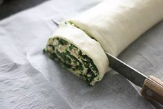 Spinazie feta bladerdeegrolletjes - Leuke recepten