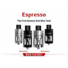 Digiflavor Espresso GST 25 eller 22mm Version Genesis RTA (Brand: DIGIFLAVOR)