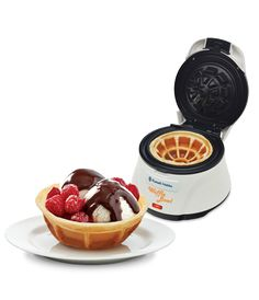 Waffle bowl maker! Must find...