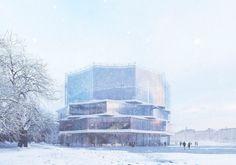 Wingårdh Arkitektkontor nobelhuset . nobel center building . stockholm #architecture