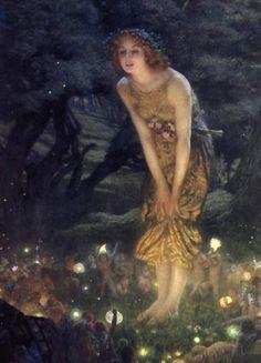 Midsummer Eve by E.R Hughes