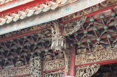 Zushi Temple, Ceiling Detail (Taiwan)