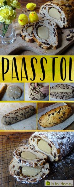 Paasstol - a Dutch yeasted sweet bread eaten at #easter #fdbloggers #MaundyThursday #bread #foodblogger #recipe #RecipeoftheWeek