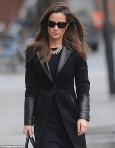 Classy leather jacket