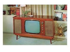 Console TV's from the late Tvs, Retro Radios, Vintage Television, Television Set, Deco Retro, Retro Art, Vintage Soul, Vintage Tv, Vintage Images