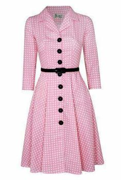 """I'm looking for more """"vintage"""" shirt dresses, rather than the slouchy modern styles. Cute Dresses, Beautiful Dresses, Casual Dresses, Fashion Dresses, Dresses For Work, Vestidos Vintage, Vintage Dresses, Vintage Outfits, Retro Fashion"""