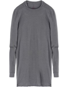 RICK OWENS DRKSHDW Long Sleeve T-Shirt. #rickowensdrkshdw #cloth #t-shirt