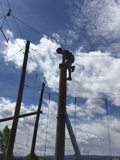 Colorado High Ropes Course Leap of Faith Platform