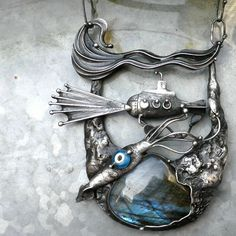 Tereza O. Pendant  | Fler.cz...wow!  There's a whole story with this pendant...